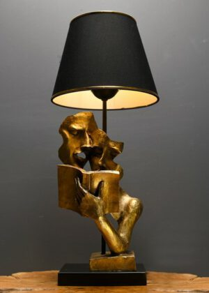 HmyDesign New Lecture Abajur Gold